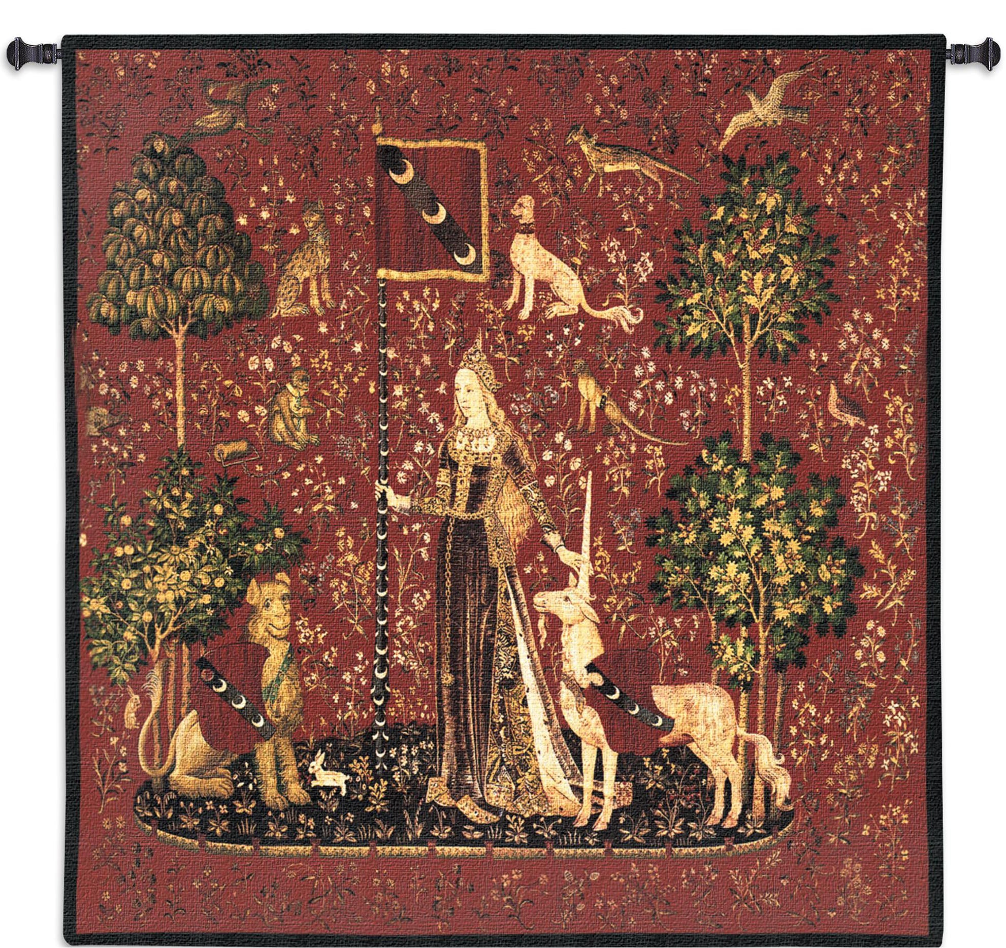 Lady And the Unicorn Touch Wall Hanging