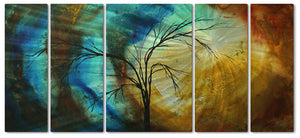 New Seasons Metal Wall Art Hanging