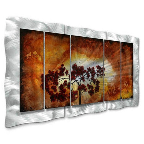 Sun Tree - Abstract Steel Metal Welded Wall Art - Megan Duncanson