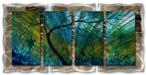 Spring Movement - Abstract Steel Metal Welded Wall Art Decor - Megan Duncanson