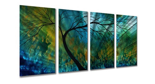 Spring Movement - Abstract Steel Metal Welded Wall Art - Megan Duncanson
