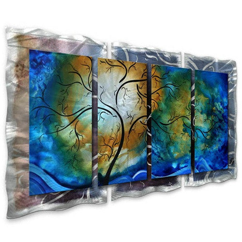Deep Sky - Abstract Steel Metal Welded Wall Art Decor - Megan Duncanson