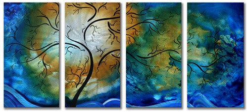 Deep Sky - Abstract Steel Metal Welded Wall Art Home - Megan Duncanson