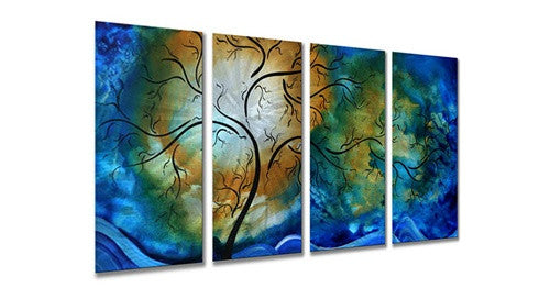 Deep Sky - Contemporary Metal Sturdy Wall Hanging - Megan Duncanson