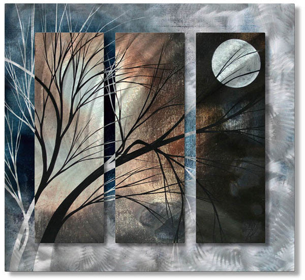 Full Moon Contemporary Modern Wall Art