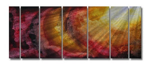 Ethereal Rays - Metal Wall Art Decor - Megan Duncanson
