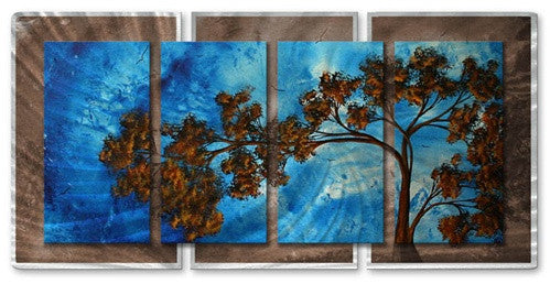 To the Sky - Abstract Steel Metal Welded Wall Art Decor - Megan Duncanson