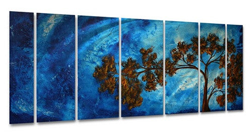 To the Sky - Abstract Steel Metal Welded Wall Art - Megan Duncanson
