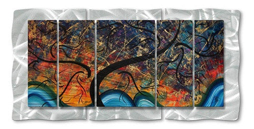 Brilliant Branches - Abstract Steel Metal Welded Wall Art Decor - Megan Duncanson