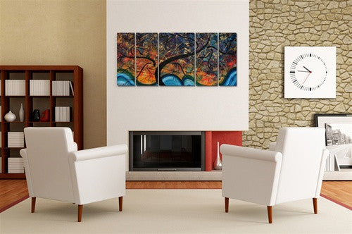Brilliant Branches Contemporary Modern Wall Art