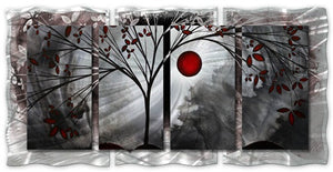 Classic Beauty - Abstract Sculpture Steel Metal Welded Wall Art - Megan Duncanson