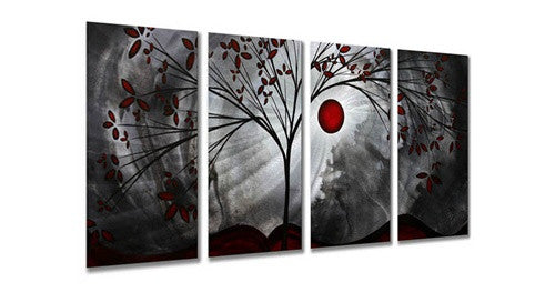 Classic Beauty - Contemporary Metal Wall Hanging - Megan Duncanson
