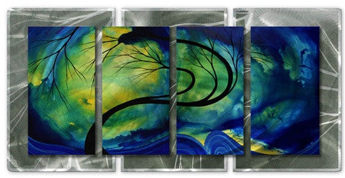 Budding Beauty - Abstract Steel Metal Welded Wall Art Decor - Megan Duncanson