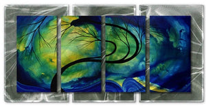 Budding Beauty - Abstract Sculpture Steel Metal Welded Wall Art Decor - Megan Duncanson