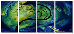Budding Beauty - Abstract Sculpture Steel Metal Welded Wall Art Home Decor - Megan Duncanson