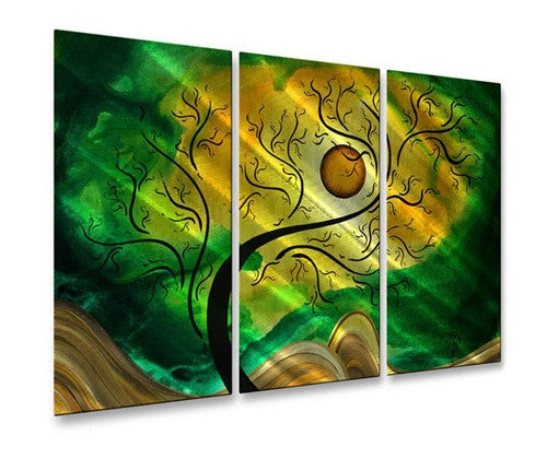 Gold Opening - Metal Wall Art Decor - Megan Duncanson
