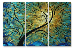 Golden Boost - Metal Wall Art Decor - Megan Duncanson