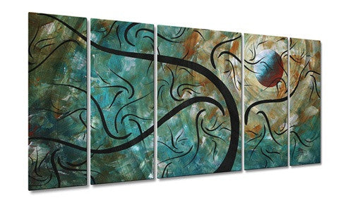 Cool Night - Metal Wall Art Decor - Megan Duncanson