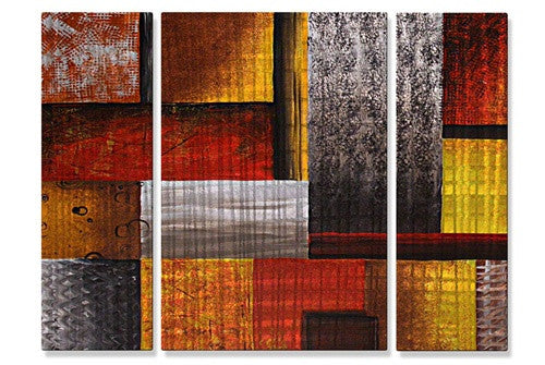 Checkered Past - Metal Wall Art Decor - Megan Duncanson
