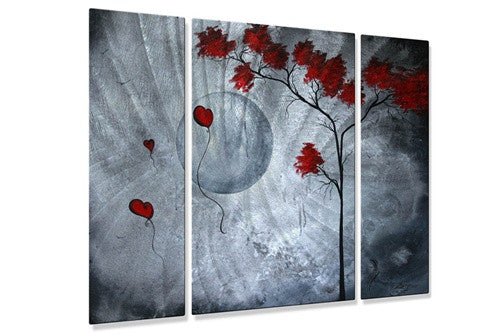 Far Side of the Moon - Metal Wall Art Decor - Megan Duncanson
