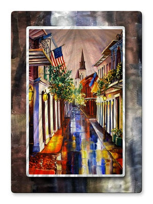 Dream New Orleans - Metal Wall Art Decor - Diane Millsap