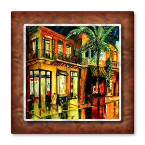 Frenchman Street - Metal Wall Art Decor - Diane Millsap