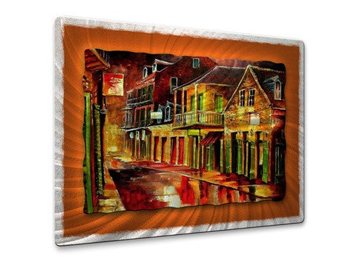 Old Bourbon Street - Metal Wall Art Decor - Diane Millsap