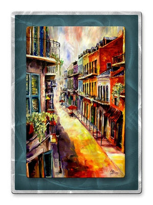 View from French Quarter Window - Metal Wall Art Decor - Diane Millsap