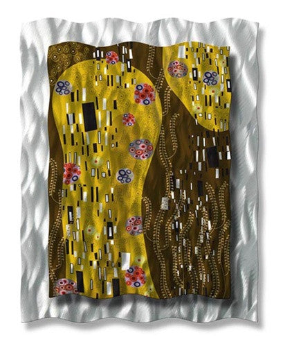 After Klimt - Metal Wall Art Decor - Ash Carl Designs