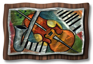 Rhythm Metal Wall Art Steel Construction