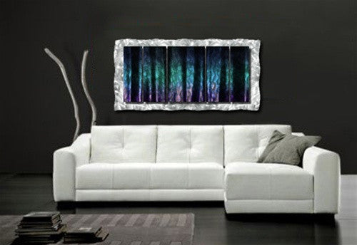 Colors of the North - Metal Wall Art Room Furnishing - Ash Carl Designs