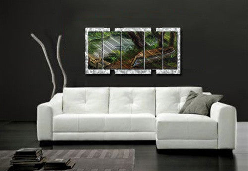 Boat by the Dock - Layer Panel Art Room Furnishing - Ash Carl Designs