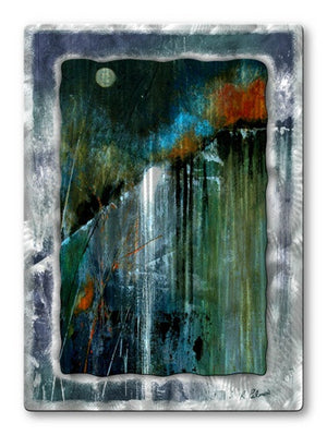 Night Falls - Metal Wall Art Decor - Ruth Palmer