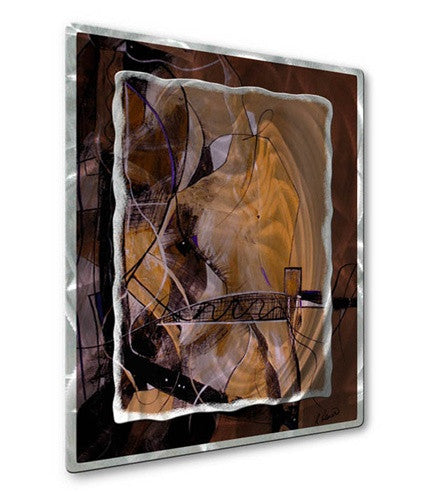 Against The Grain - Metal Wall Art Decor - Ruth Palmer