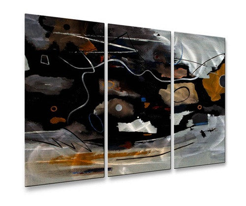 Electron Volt - Contemporary Metal Wall Hanging - Ruth Palmer