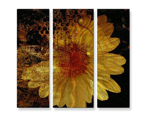 Abstract Daisy - Metal Wall Art Decor - Ruth Palmer