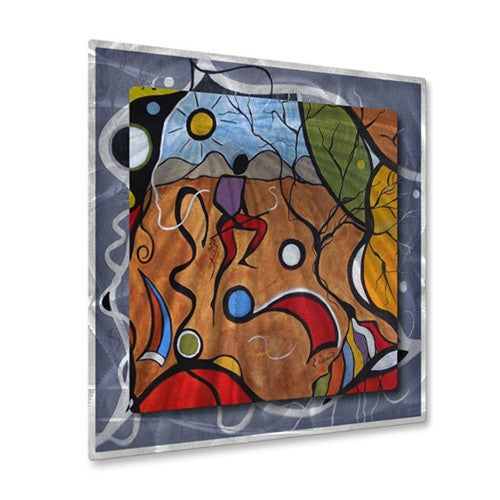 Rain Dance - Metal Wall Art Decor - Ruth Palmer