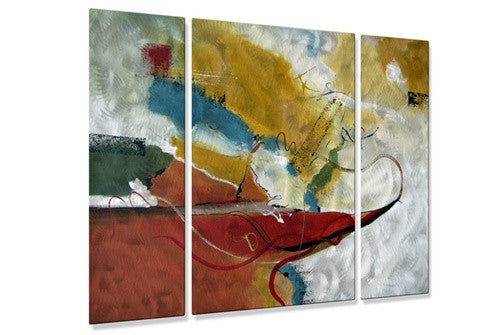 Abstract Motion - Metal Wall Art Decor - Ruth Palmer