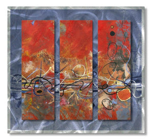 Rhythm - Metal Wall Art Decor - Ruth Palmer