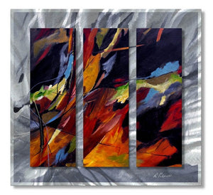Colors Dance - Metal Wall Art Decor - Ruth Palmer