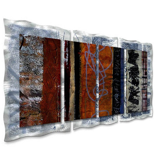 Eclectic - Abstract Steel Metal Welded Wall Art Home - Ruth Palmer