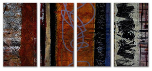 Eclectic - Abstract Style Steel Metal Welded Wall Art Decor - Ruth Palmer