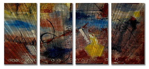Woven Way - Abstract Steel Metal Welded Wall Art Decor at Home - Ruth Palmer