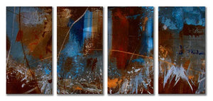Urban Feel - Abstract Steel Metal Welded Wall Art by Artist Ruth Palmer