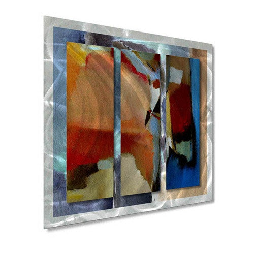 Blocky Bold - Metal Wall Art Decor - Ruth Palmer