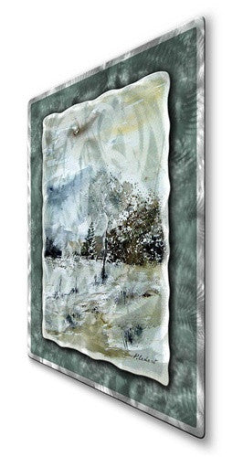 Winter Trees - Metal Wall Art Sculpture - Pol Ledent