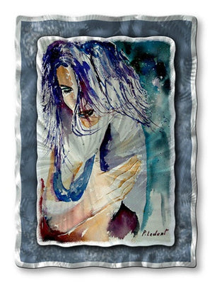 Lonely  - Metal Wall Art Decor - Pol Ledent