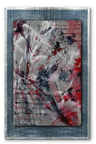 Love Letter - Metal Wall Art Decor - Pol Ledent