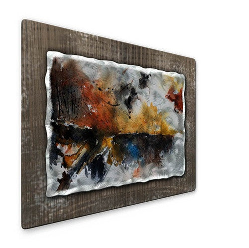 Reflection - Painted Steel Metal Welded Wall Art Decor - Pol Ledent