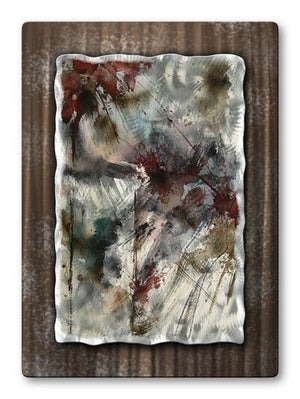 Darkness - Painted Steel Metal Welded Wall Art Decor - Pol Ledent